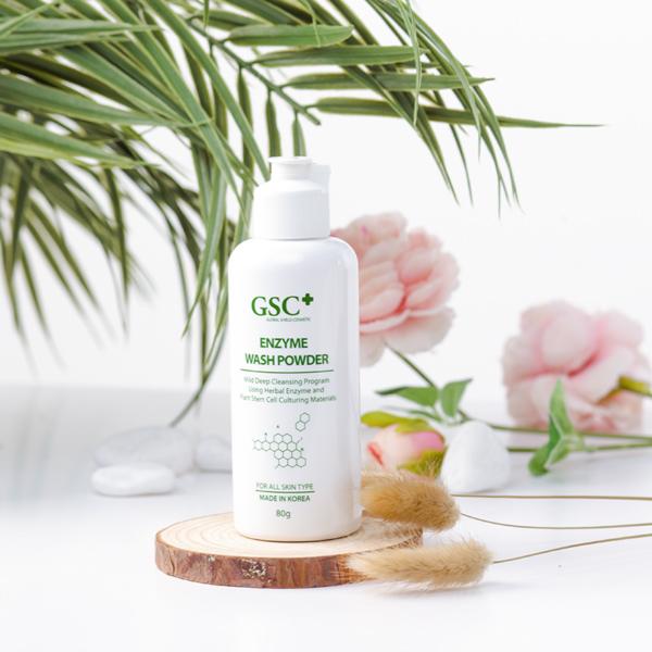 GSC Enzyme Wash Powder 80g (Bột rửa mặt)