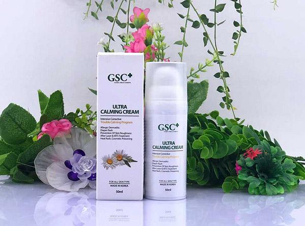 Kem phục hồi da, giảm sưng giảm đỏ GSC Ultra Calming Cream 50ml