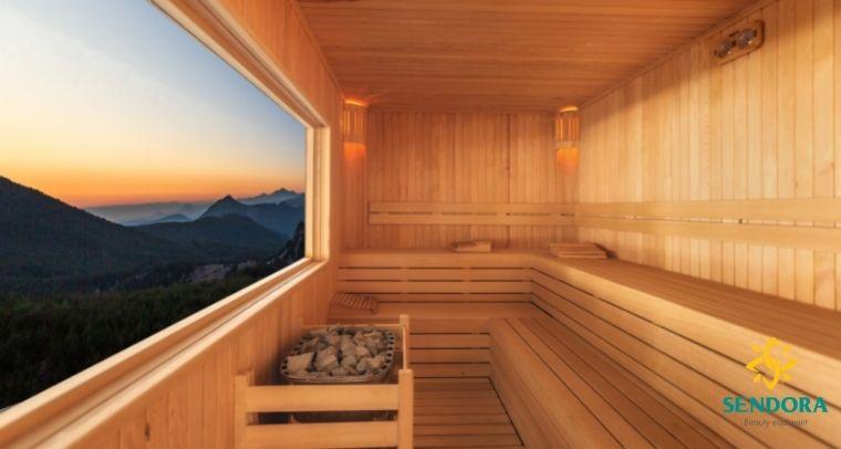 Phòng xông hơi cho resort