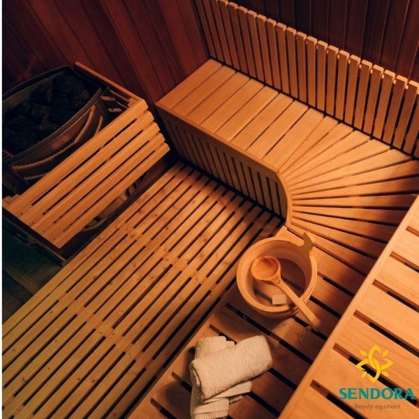 Các thiết bị trong phòng xông hơi khô sauna