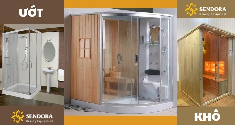 3 loại phòng xông hơi phổ biến hiện nay